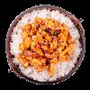 Курица в соусе терияки с рисом